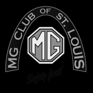 MG Club Squared Reversed B&W